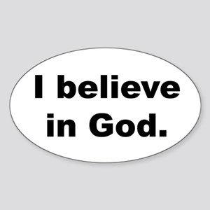 Back_believeinGod Sticker