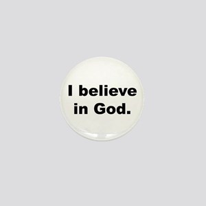 Back_believeinGod Mini Button