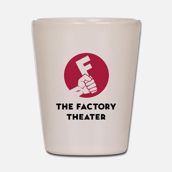 Cute Chicago theater Shot Glass
