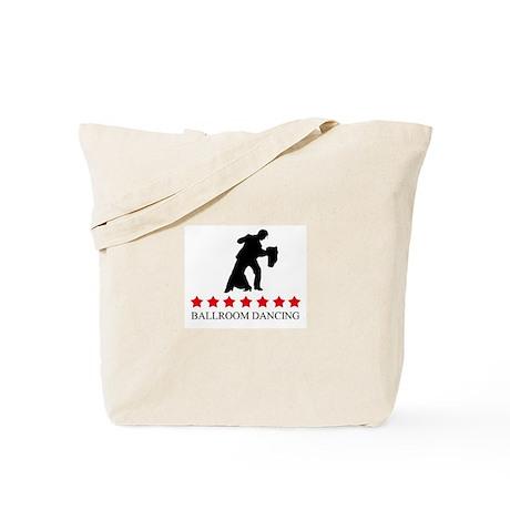 Ballroom Dancing (red stars) Tote Bag
