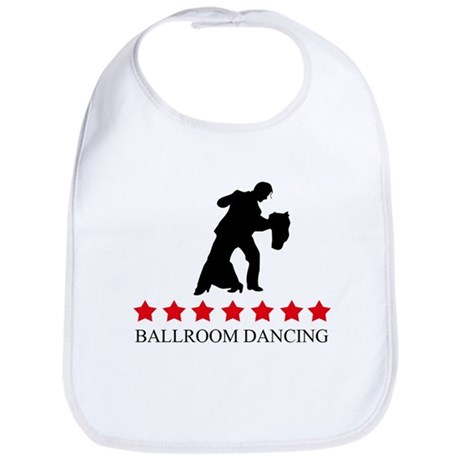 Ballroom Dancing (red stars) Bib
