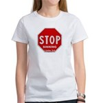 Stop Sinning Women's T-Shirt