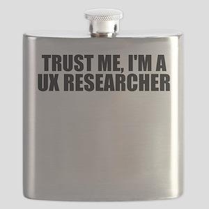 Trust Me, I'm A UX Researcher Flask