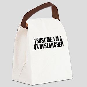 Trust Me, I'm A UX Researcher Canvas Lunch Bag