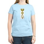 Messianic Seal of Jerusalem Women's Pink T-Shirt