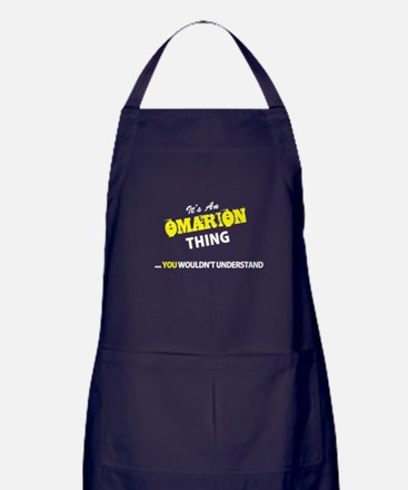 OMARION thing, you wouldn't understan Apron (dark)