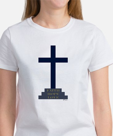 Calvary Cross Women's T-Shirt