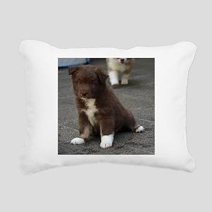 IcelandicSheepdog_201712 Rectangular Canvas Pillow