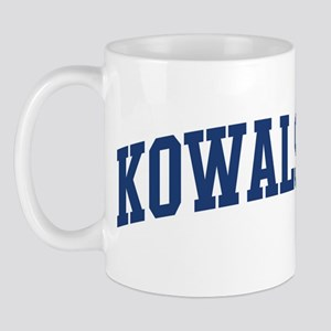 KOWALSKI design (blue) Mug