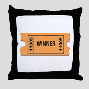 Winner Throw Pillow