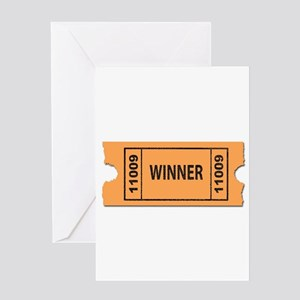 Winner Greeting Cards