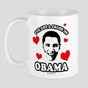 I've got a crush on Obama Mug