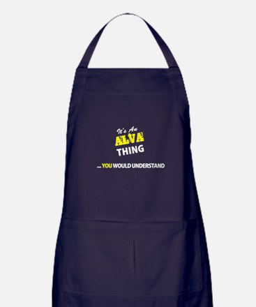 ALVA thing, you wouldn't understand Apron (dark)
