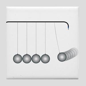 Kinetic Energy Tile Coaster