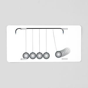 Kinetic Energy Aluminum License Plate