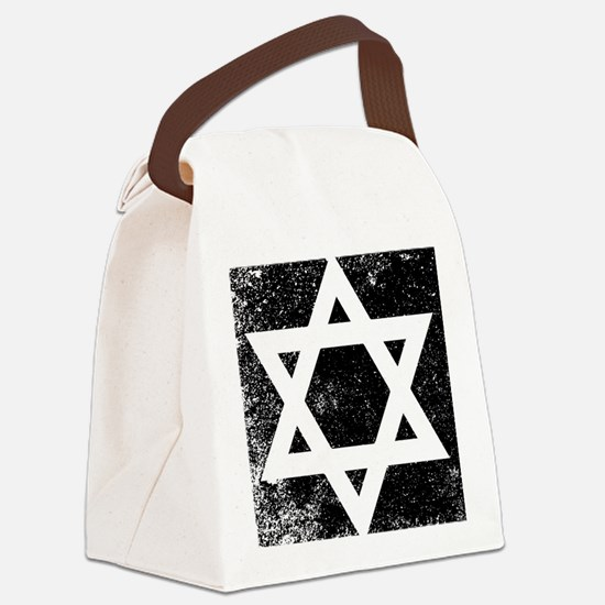 Funny Star david Canvas Lunch Bag