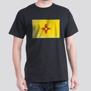 New Mexico State Flag Grunge T-Shirt