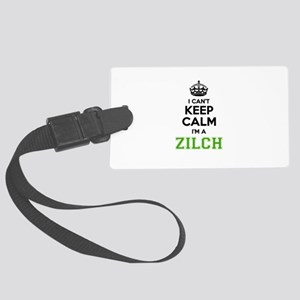 Zilch I cant keeep calm Large Luggage Tag