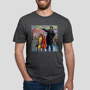 School Crossing Ash Grey T-Shirt