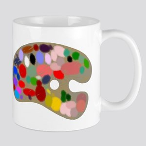 Artist Pallet Mugs