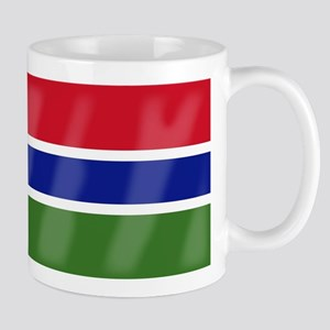 Gambia Flag Mugs