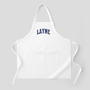 LAYNE design (blue) BBQ Apron