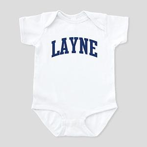 LAYNE design (blue) Infant Bodysuit