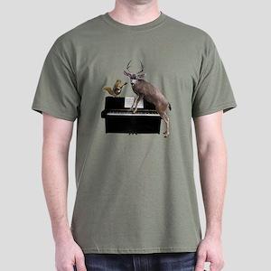 Deer Piano T-Shirt