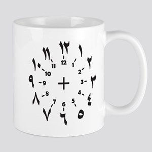 CLOCKFACE ARABIC NUMERALS Mugs
