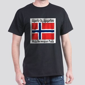 Norwegian Parts Ash Grey T-Shirt