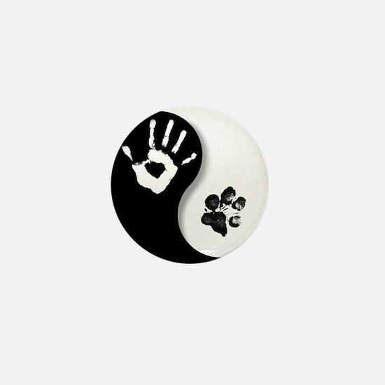 Cool Yin yang Mini Button