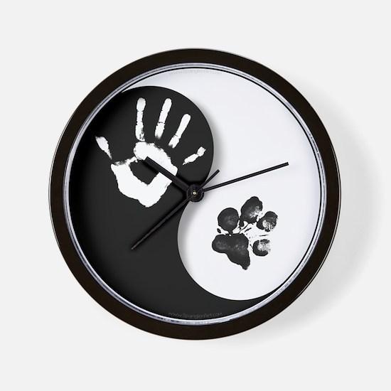 Cute Yin yang Wall Clock
