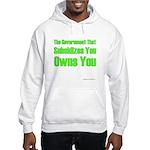 Gov't Owns Hooded Sweatshirt