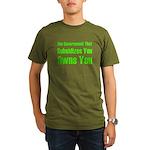 Gov't Owns Organic Men's T-Shirt (dark)
