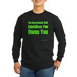 Gov't Owns Long Sleeve Dark T-Shirt