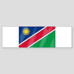 Namibia Flag Bumper Sticker