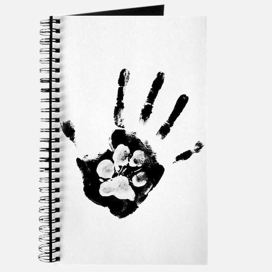 Cute Yin yang dog Journal