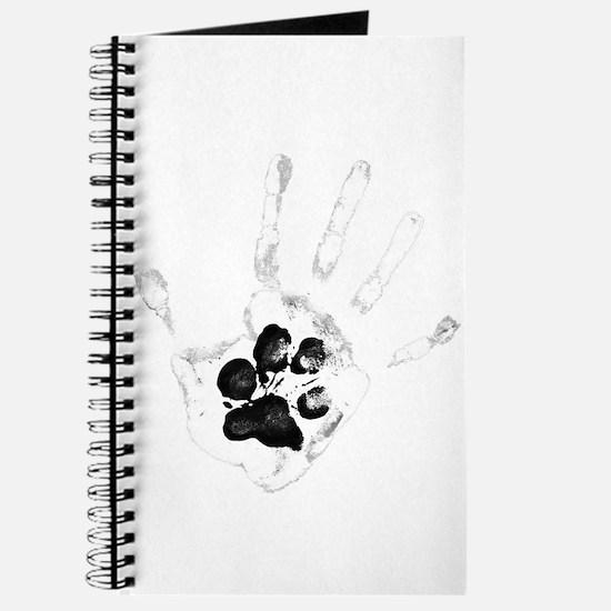 Unique Yin yang dog Journal