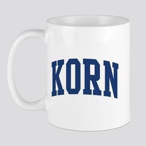 KORN design (blue) Mug