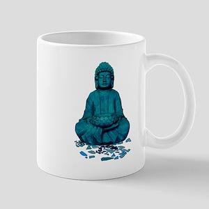 Buddha blue. Mugs