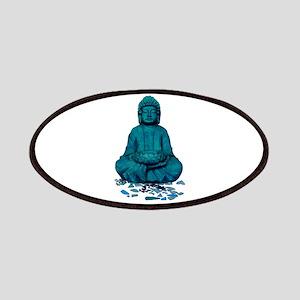 Buddha blue. Patch