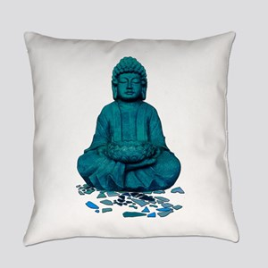 Buddha blue. Everyday Pillow