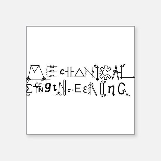 Mechanical Engineering Sticker