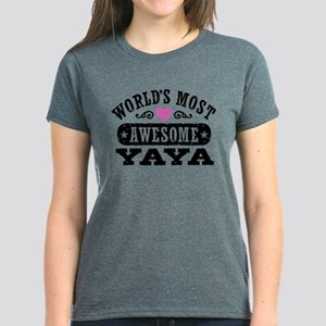 World's Most Awesome Yaya T-Shirt