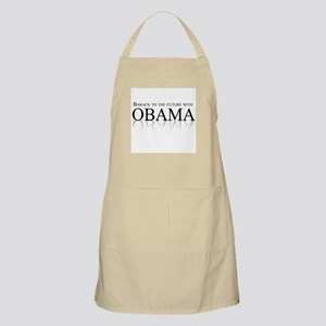 Barack to the future with Obama BBQ Apron