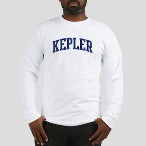 KEPLER design (blue) Long Sleeve T-Shirt