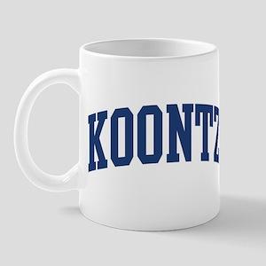 KOONTZ design (blue) Mug