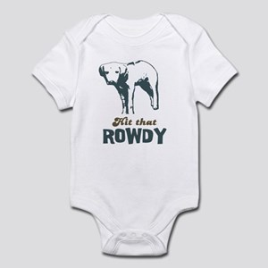 Hit That Rowdy Infant Bodysuit