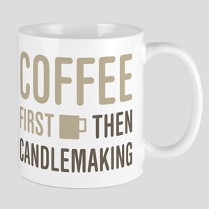 Coffee Then Candlemaking Mugs