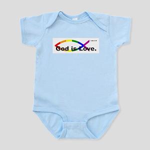 God is Love. Body Suit